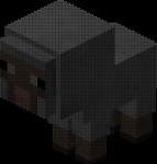 Dot picture: minecraft lamb by fanis01