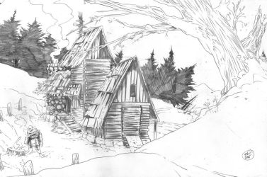 Orc Home by AtomicAgeEthan