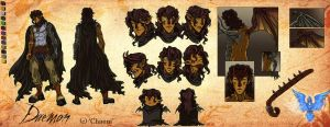 Heeroluva Character Sheet by m-t-copyright