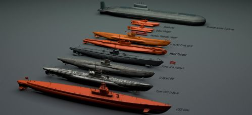 Submarine Fleet by rOEN911