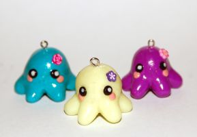 Octopus Charms by Arilou
