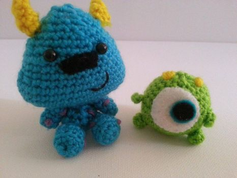 Mike and Sully by LittleShopOfCutes