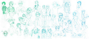 HE sketchdump by Lilami