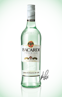Bacardi Rum Vector by FajitaPitaGuy