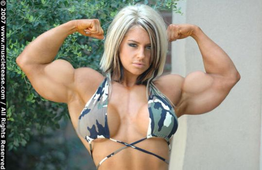 Female muscle 13 by BigDane