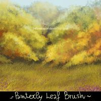 Painterly Background brush (Oak) by smilinweapon