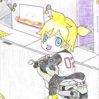 len's motorcycle by fangirlscreamover9