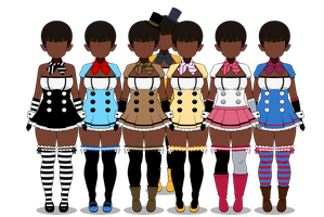 {{Playsuits for Freddy's 2}} by FkaTaylor