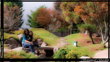Mother and Daughter Gardens by enob-x