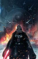 Star Wars : VaderDown 01 by Aleksi--Briclot