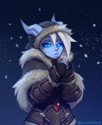Draecember 15th - In winter clothes by Zeon-in-a-tree