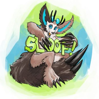 A BADGE FOR ANTYRTHOCONb ?? SLOOF PARTY by PRASTSHACKER