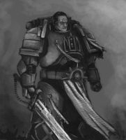 space marine scketch by FonteArt