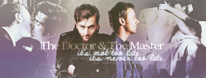 The Doctor and The Master by FirstTimeLady