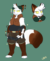 Guardia Concepts: Sammy Redesign and Color Ref by lemondragon19