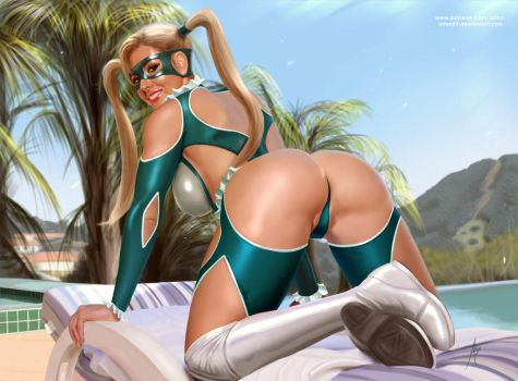 R Mika by the pool by arion69