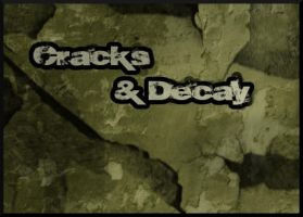 Cracks and Decay Brush Set by ajsk84life