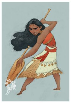 Moana by Ardinaryas