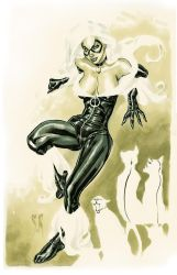 Black Cat Commission by StephaneRoux
