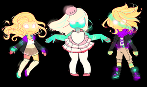 GP Collab Set Auction - Glowing Forms by Owlhana