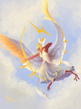 4-4 White Angel by Xovq