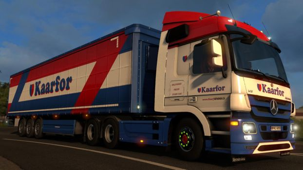 ETS 2 - Mercedes Benz Actros MP3 2655 - 1 by HappyLuy