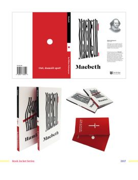 Shakspeare Book Cover Designs by BlackIvoryy