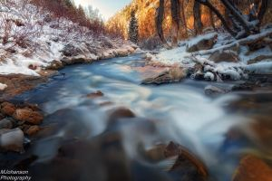 The Changing Colors on the Stream by mjohanson