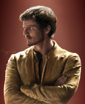 Oberyn Martell: Red viper by MaayanCohen