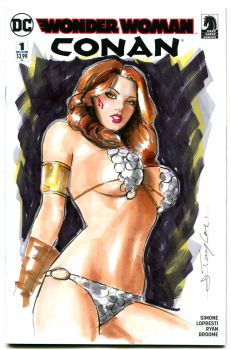 Red Sonja by Artfulcurves