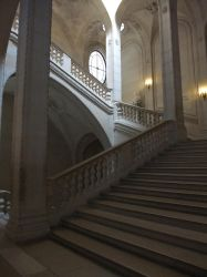 Louvre Staircase by Anellstock