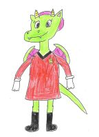 Dulcy - Female Star Trek Crew Member by dth1971