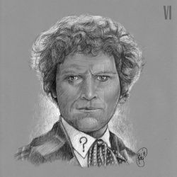 Doctor Who: Sixth Doctor by rfparker