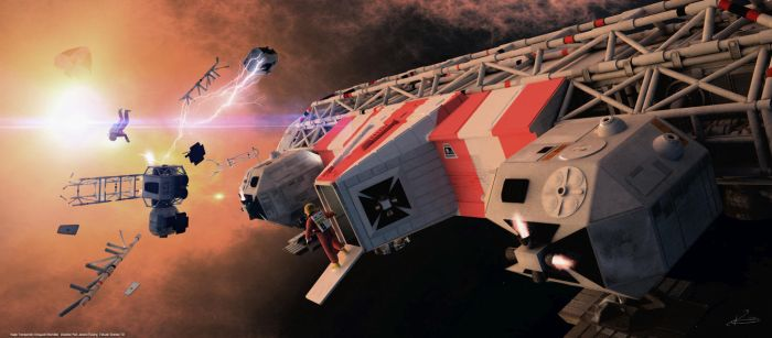 Space: 1999 - Eagle Rescue by Tenement01