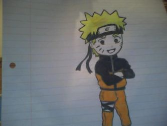 Naruto shippuden chibi by The-Misfit-ers