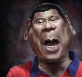 Rodrigo Duterte by DVLArt