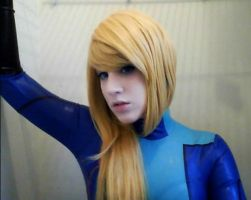 Samus Zero Suit 5 Cosplay- Metroid by sasukelove207