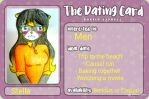 Stella's Dating Card by Sofiathefirst