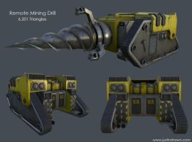 Remote Mining Drill by JustinMs66