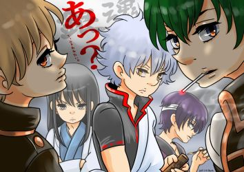 Fan Art - GINTAMA by madoka07