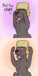 That's LEWD! by CrownePrince