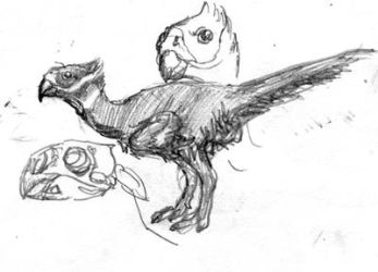 Tropical Oviraptor by povorot
