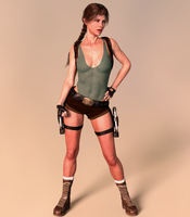 Tomb Raider Classic by ArtiMuller