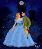 CINDERELLA AND THE PRINCE by FERNL