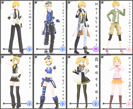 PD x YYB [Rin + Len Set 1] Download by maydayfireball