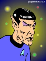 Spock by Bufoland