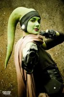 Twi'lek smuggler by Applenaut