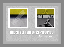 Old Style Textures - 100x100 by KeyMoon