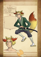 Pokedo Empire: Mitsuhide Asakura by LinearMango