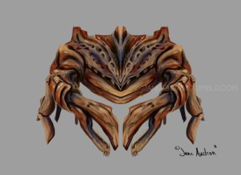 Alien Crab Concept by Jane2Audron